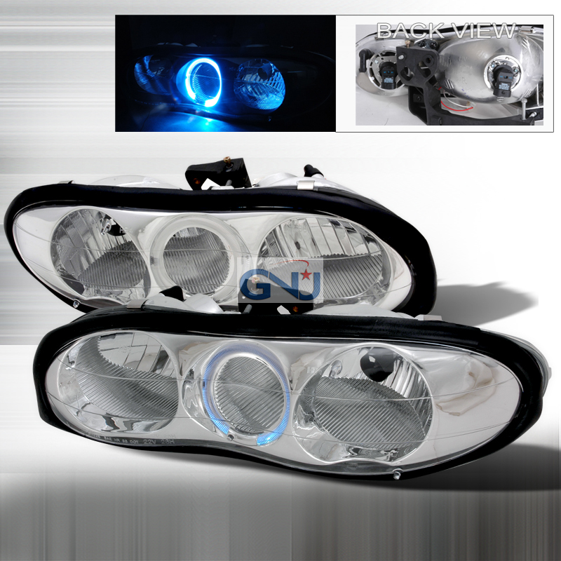 Chevrolet Camaro 1998-2001 Chrome Euro Headlights