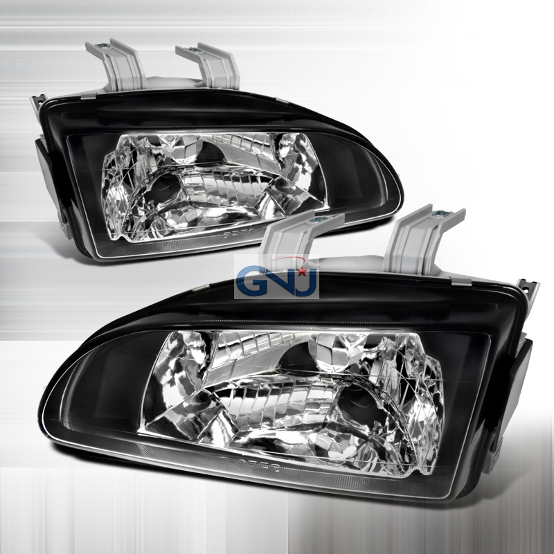 Ford Econoline 1992-2006 Chrome Euro Headlights