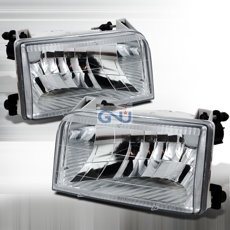 Ford F150 1992-1996 Chrome Euro Headlights
