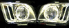 Ford Mustang 2005-2006 Diamond Back Headlights with Halo
