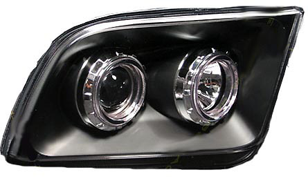 Ford Mustang 2005-2006 Black Projector Headlights
