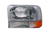 Ford Excursion 1999-2003 Headlights And Corner Lights (Chrome)