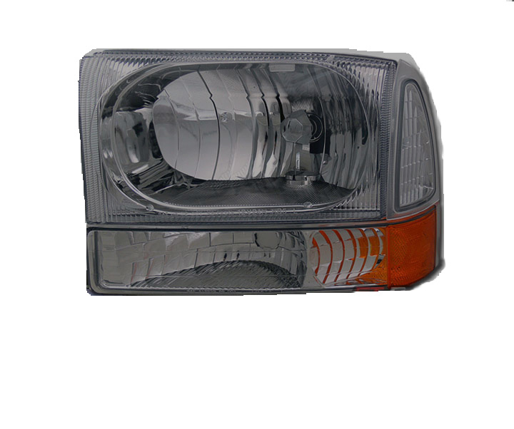 Ford F250 F350 Superduty 1999-2003 Headlights And Corner Lights(Smoked)