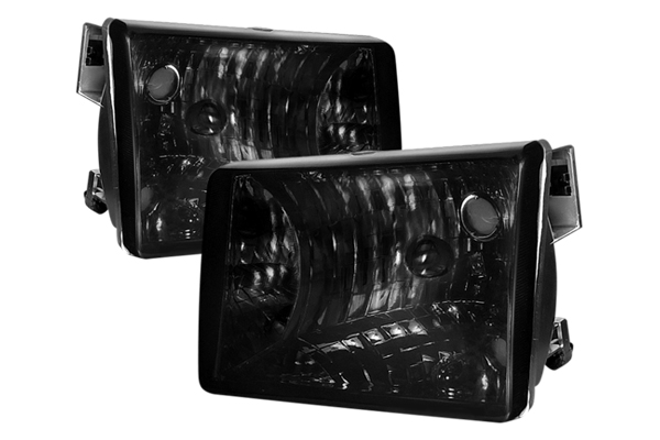 Jeep Grand Cherokee 1993-1998 Smoke Euro Headlights