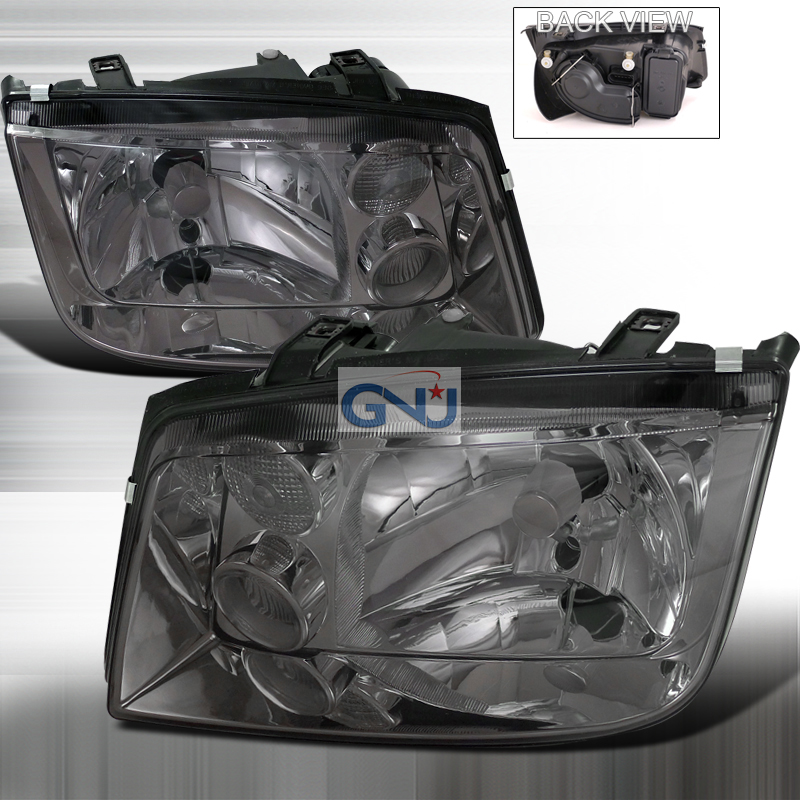 Volkswagen Jetta 1999-2004 Smoke Euro Headlights