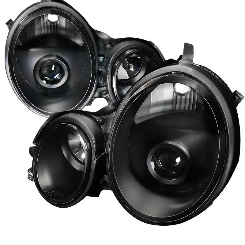 Mercedes Benz E-Class W210 1996-1999 Black  Projector Headlights