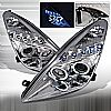 2004 Toyota Celica   Chrome Halo Projector Headlights  W/LED'S