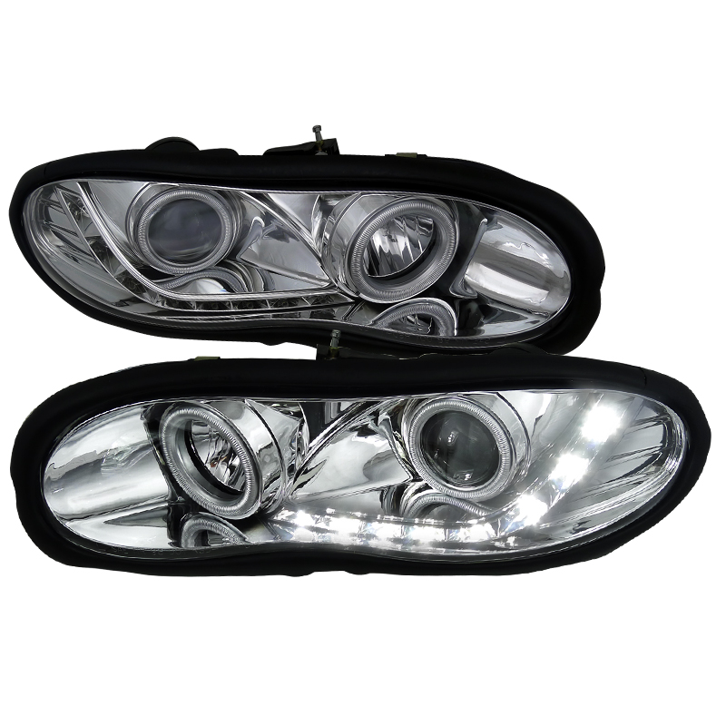 Chevrolet Camaro  1998-2002 Chrome R8 Style Projector Headlights