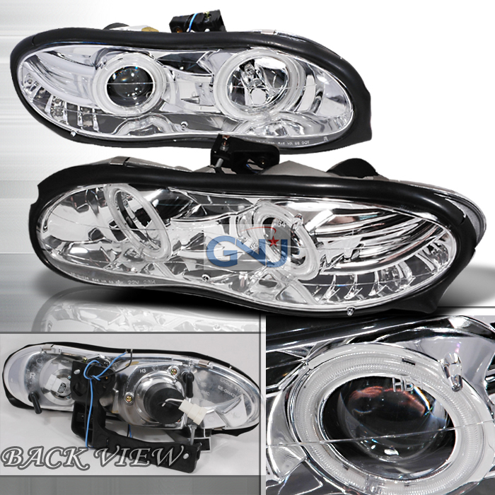 Chevrolet Camaro  1998-2002 Chrome Halo Projector Headlights