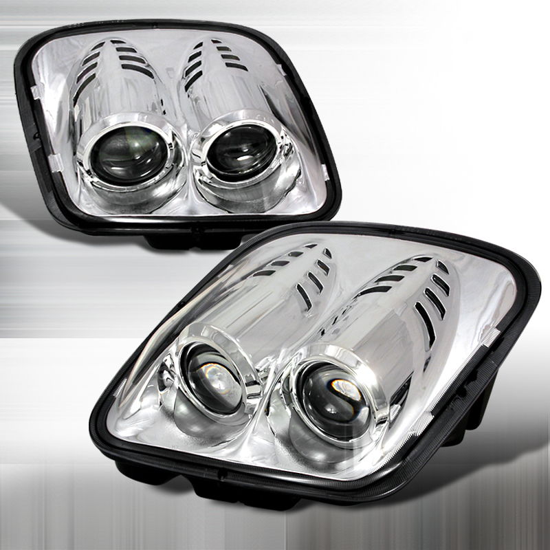 Chevrolet Corvette  1997-2004 Chrome  Projector Headlights