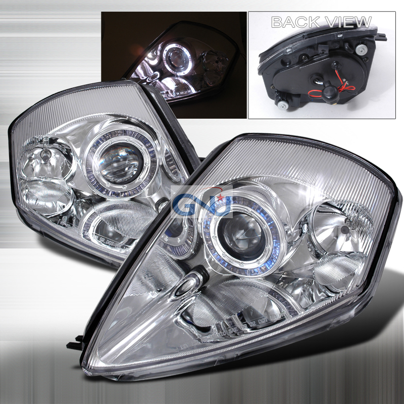 Mitsubishi Eclipse  2000-2005 Chrome  Projector Headlights