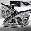 2004 Ford Focus  R8 Style Chrome Housing Projector Headlights