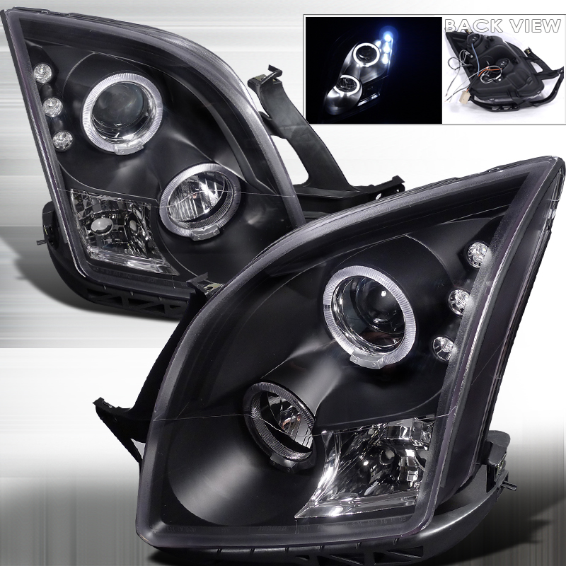 Ford Fusion  2006-2009 Black  Projector Headlights
