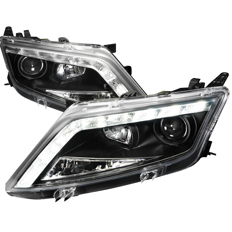 Ford Fusion  2010-2012 Black  Projector Headlights