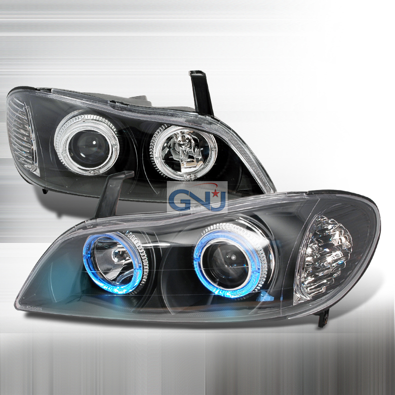 Infiniti I30  2000-2001 Black Halo Projector Headlights