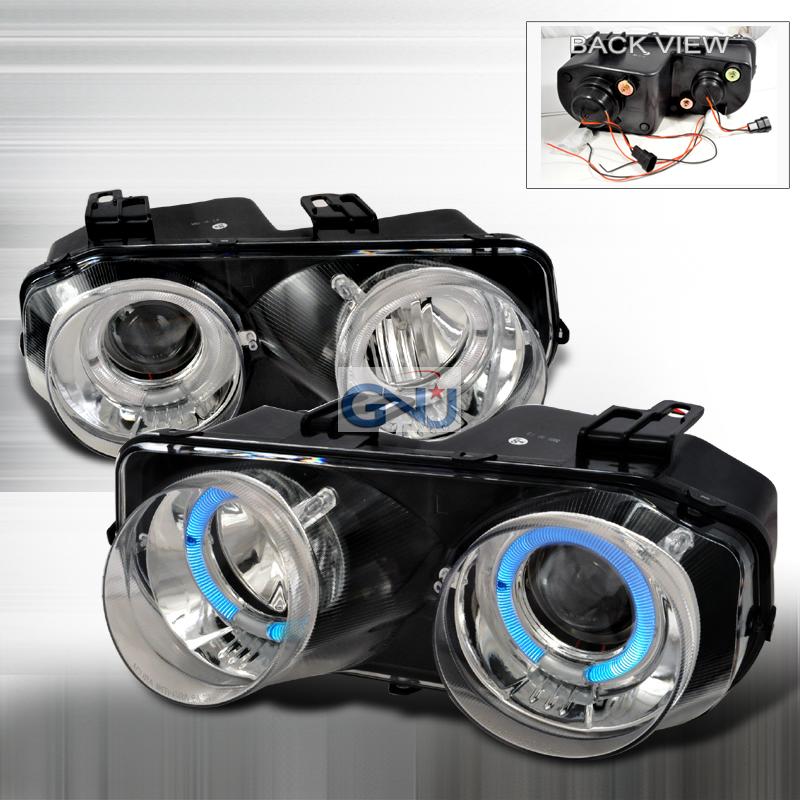Acura Integra  1994-1997 Chrome Dual Halo Projector Headlights