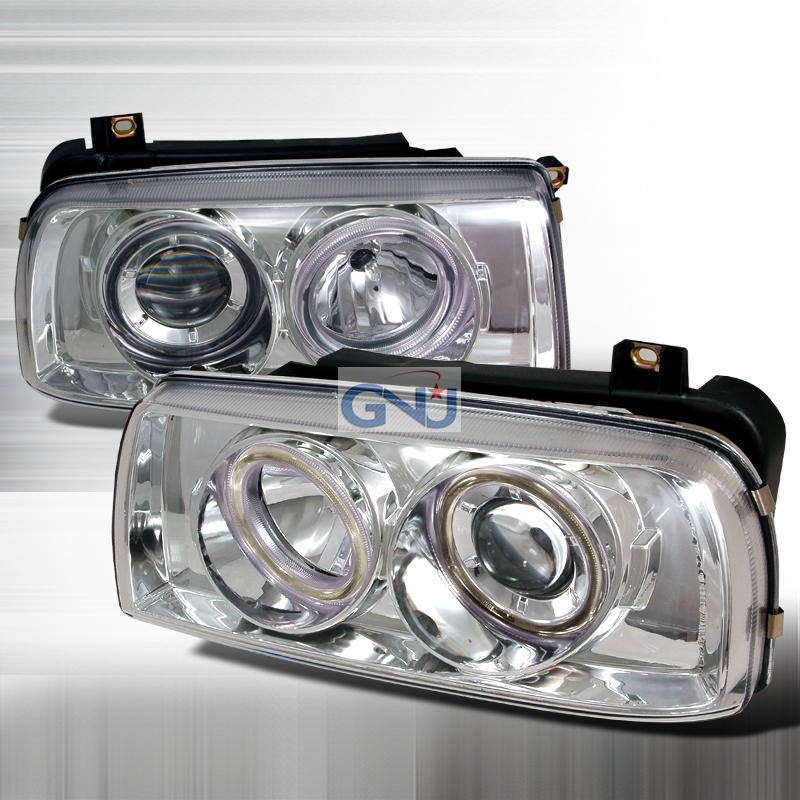 Volkswagen Jetta  1993-1998 Chrome  Projector Headlights