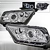 2013 Ford Mustang   Chrome  Projector Headlights