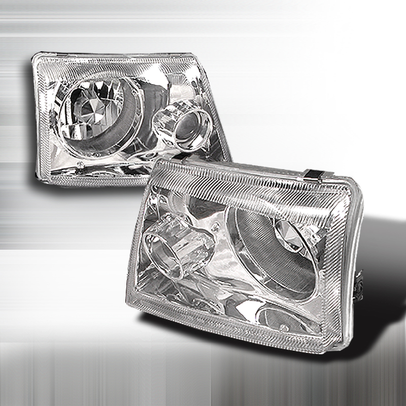 Ford Ranger  1998-2001 Chrome  Projector Headlights