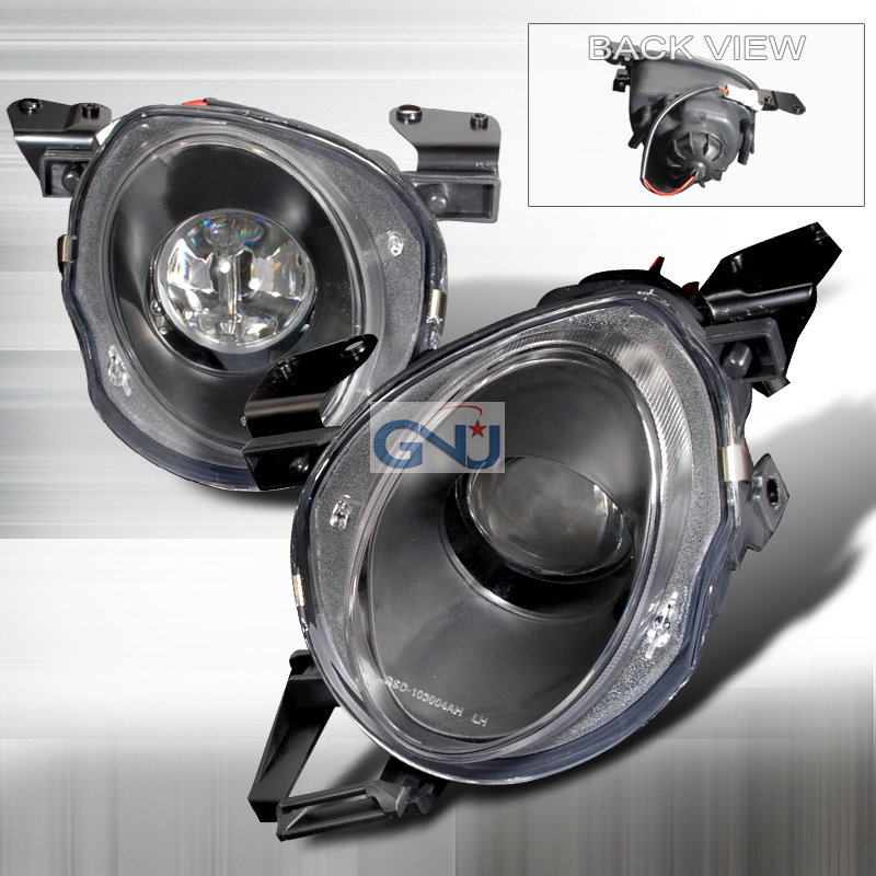 Lexus SC300  1992-1999 Black  Projector Headlights