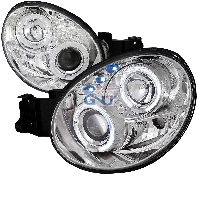 Subaru WRX  2002-2003 Chrome  Projector Headlights
