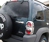 2002 Jeep Liberty   Chrome Rear Door Handle Cover