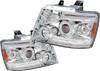 Chevrolet Avalanche 2007-2008 Chrome Projector Headlights