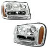 Chevrolet Trailblazer 2002-2007 Chrome Projector Headlights