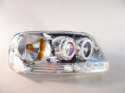 Ford F150, Expedition 97-03 1 Piece Projector Head Lights