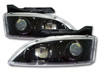 1996 Chevrolet Cavalier  Black Projector Headlights