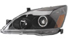 Honda Accord 2003-2006 Projector Head Lights (Black)