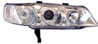 Honda Accord 94-97 Projector Headlights Chrome/Clear