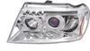 2000 Jeep Grand Cherokee  Chrome Projector Headlights