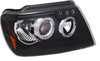 2002 Jeep Grand Cherokee  Black Projector Headlights