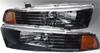 Mitsubishi Galant 1999-2003 Black Headlights