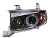 Scion XB 03-06 Black Projector Headlights