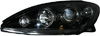 Toyota Camry 2002-2004 Black Projector Headlights