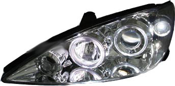 Toyota Camry 2002-2004 Chrome Projector Headlights