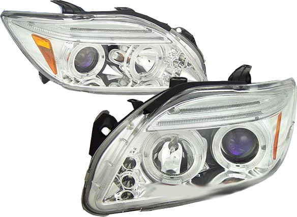 Scion TC 2005-2006 Chrome Projector Headlights
