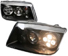 2000 Volkswagen Jetta  Black Projector Headlights