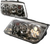 Volkswagen Jetta 1999-2004 Chrome Projector Headlights