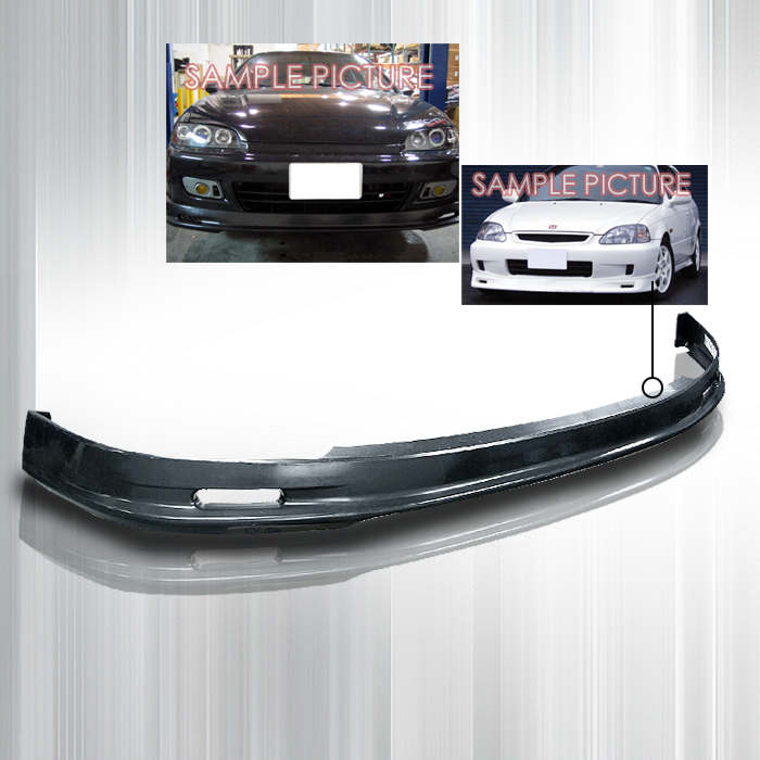 Honda Civic 1992-1995 2/3 Door Mugen Style Front Bumper Lip