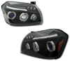 Dodge Magnum 2005-2006 Black Projector Headlights
