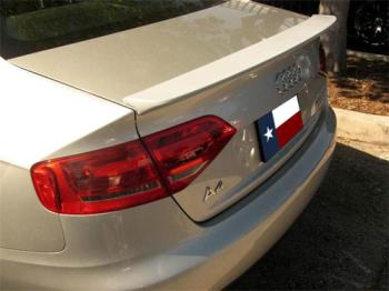 Audi A4   2009-2010 Factory Style Rear Spoiler - Painted