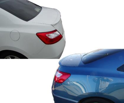 Honda Civic 2DR  2006-2010 Lip Style Rear Spoiler - Painted