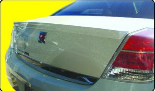Saturn Aura   2007-2011 Lip Style Rear Spoiler - Primed