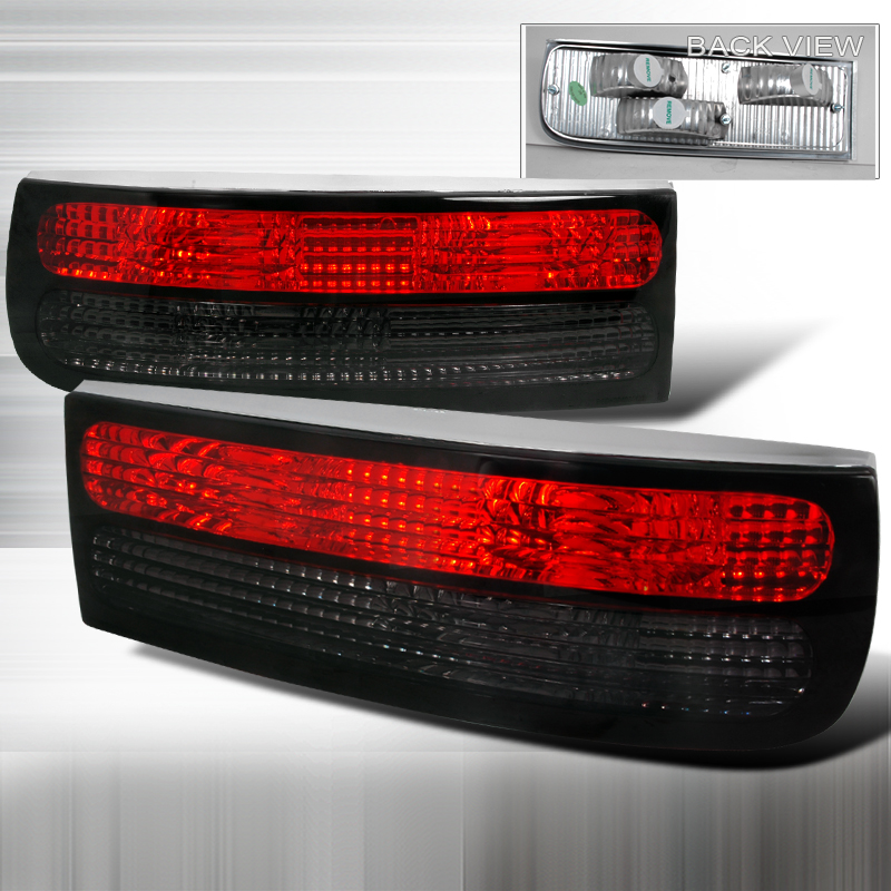 Nissan 300ZX  1990-1996 Red / Smoke Euro Tail Lights