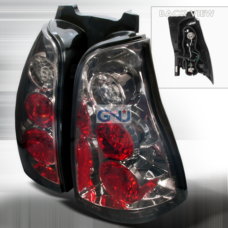 Toyota 4 Runner  2003-2005 Smoke Euro Tail Lights