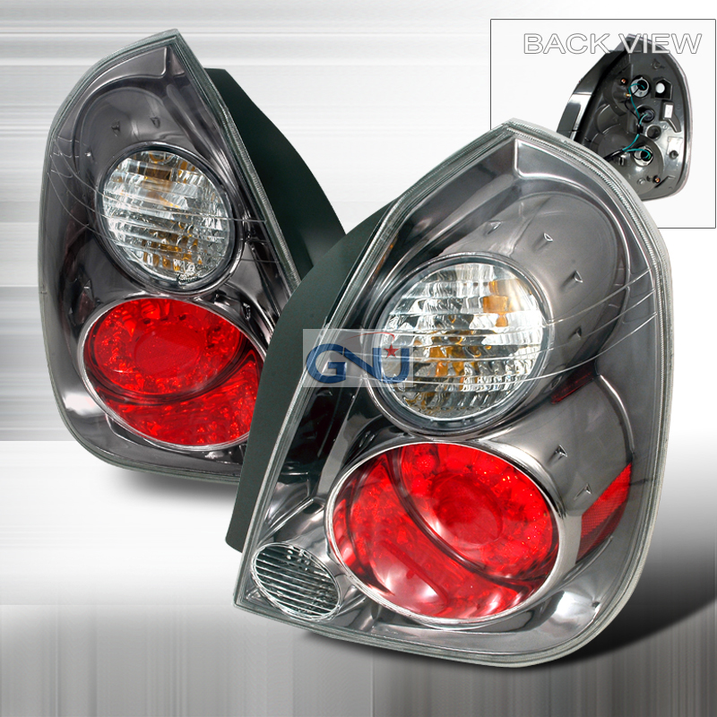 Nissan Altima  2002-2006 Chrome LED Tail Lights