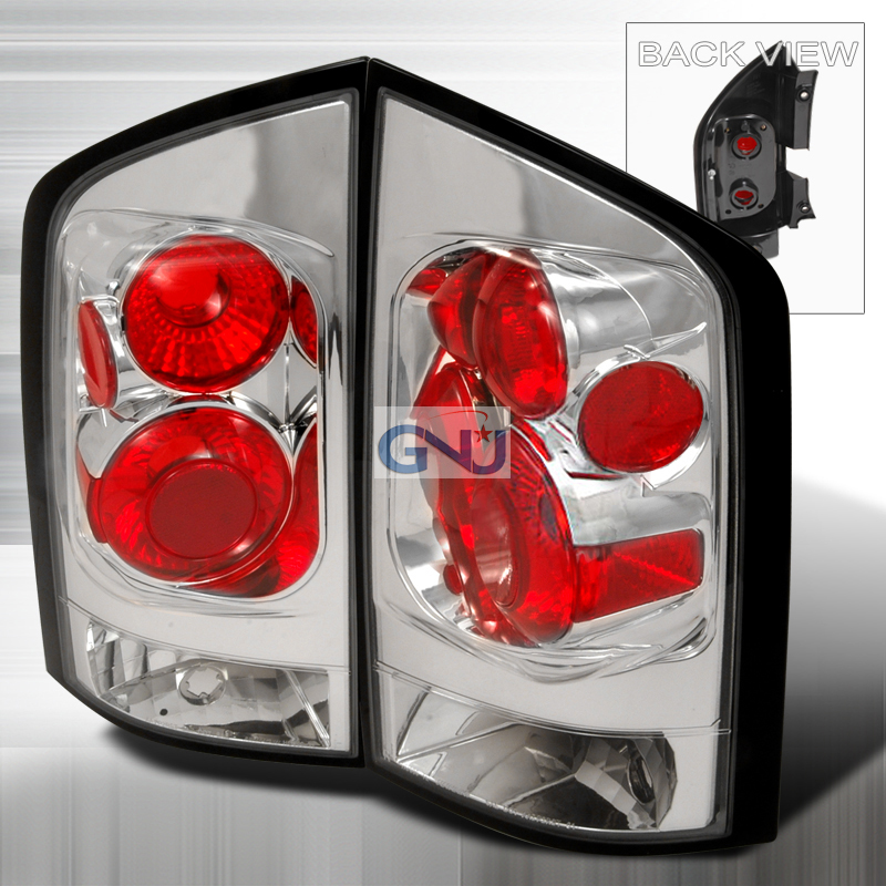 Nissan Armada  2005-2012 Chrome Euro Tail Lights